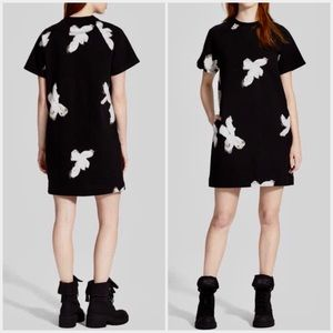 MARC JACOBS Grand Painted Flower Sweatshirt Dress